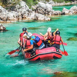 Soča rafting Bovec