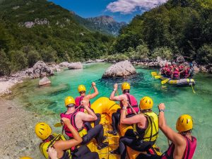 Slovenia rafting Soca river