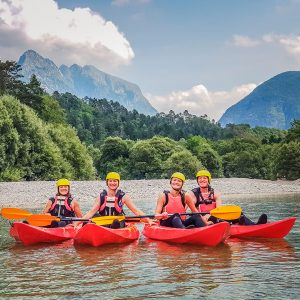 Soca kayak tour
