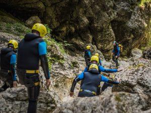 Slovenia canyoning